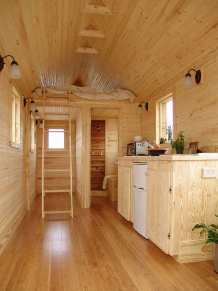 Smallest Coolest House On Wheels: Martin House / design bookmark #6490