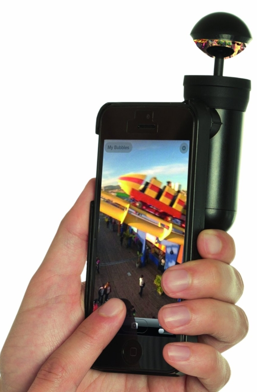 Bubblescope 360 Degree Optical Camera Lens with Case for iPhone 5