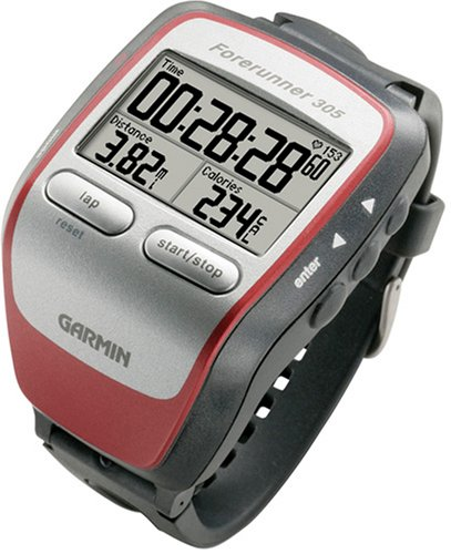 Amazon.com: Garmin Forerunner 305 GPS Receiver With Heart Rate Monitor: Garmin: GPS & Navigation