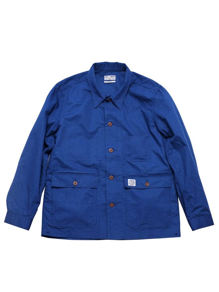 ENDS and MEANS Utility Shirts Jacket | DOCKLANDS Store