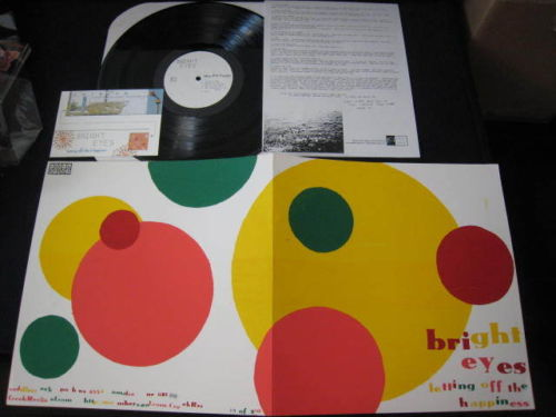 Bright Eyes Letting Off US Vinyl LP with Numbered Sleeve | eBay