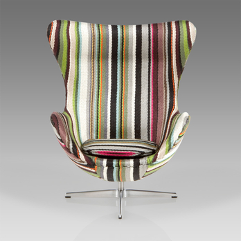 Fancy - 'Miniature Egg Chair' with Paul Smith Fabric