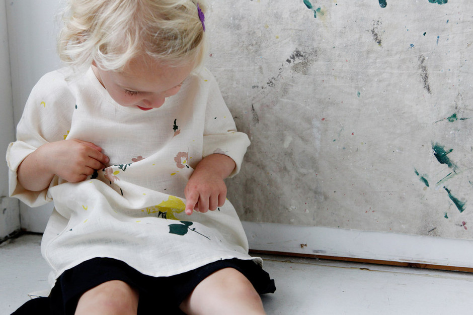 Wild, Natural, Free Kids' Smock by Lena Corwin - More & Co.