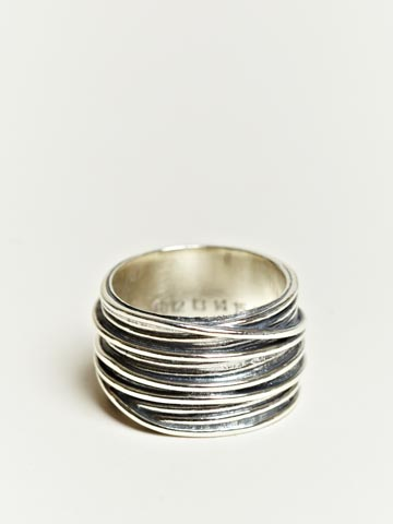 Maison Martin Margiela Men's Chunk Wire Ring | LN-CC