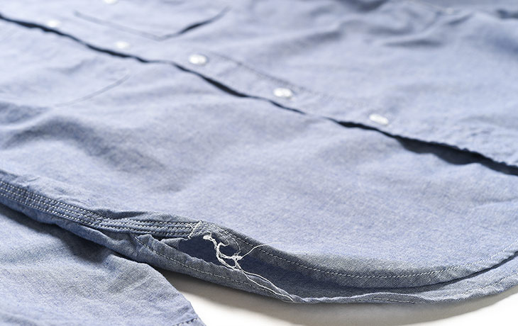 ENGINEERED GARMENTS/Work Shirt-Lt.Weight Cotton Chambray-Lt.Blue