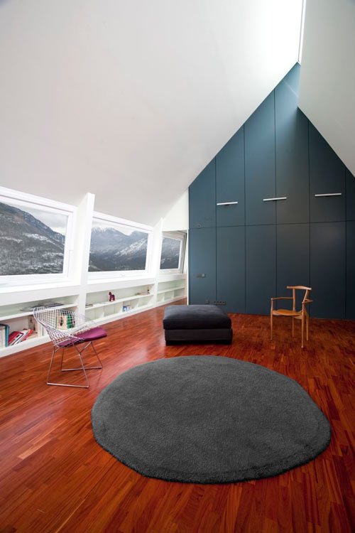 House At The Pyranees by Cadaval & Solà-Morales   Design Milk