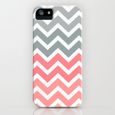 Chevron Pink Fade iPhone & iPod Case by RexLambo | Society6