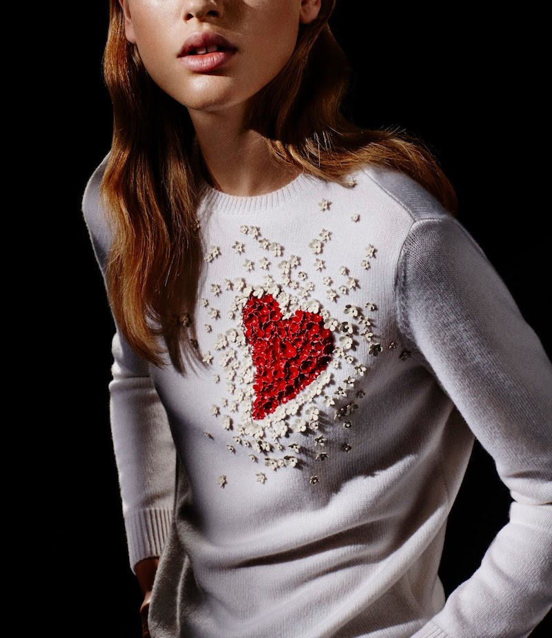 Romantic Mood: Special Collections Valentino Pre-Fall 2015 Lookbook at Barneys New York – NAWO