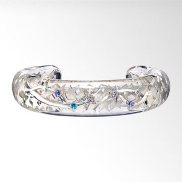 STAR JEWELRY  CLEAR ASTRONOMY BANGLE: ブレスレット