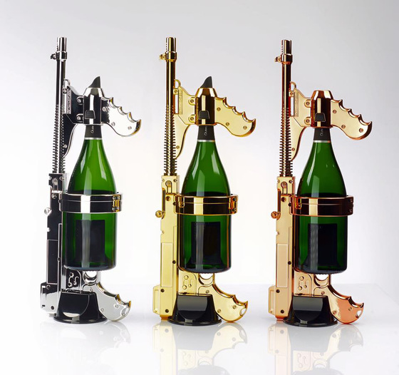The Champagne Gun Takes Parties To Another Level | Highsnobiety
