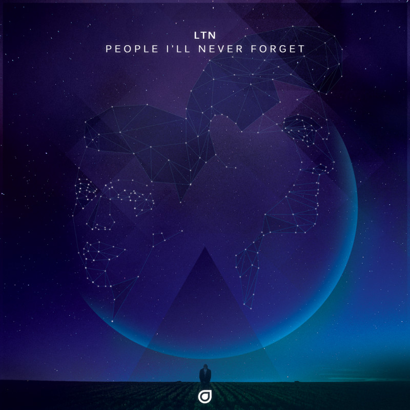 LTN - People I'll Never Forget [Signed CD] - Enhanced Music
