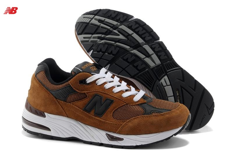 New Balance M991Bn Brown Grey Steve Jobs Shoes Special Price