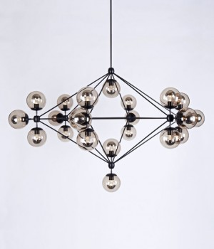 Modo Sconce - 2 Globes - Roll & Hill