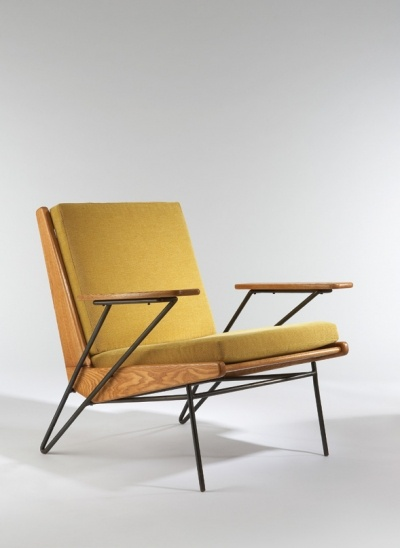 Life - Pierre Guariche, Lounge Chair, 1953.