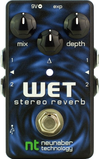 Wet Stereo Reverb Pedal – Neunaber Audio Effects