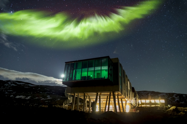 The hunt to see the Northern Lights at Iceland's ION hotel | Metro News