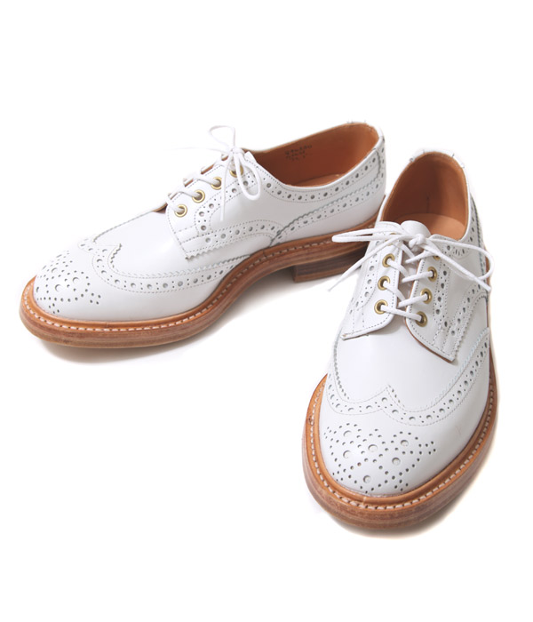 Tricker`s|トリッカーズ|WING TIP SHOES(WHITE)| ARKnets (アークネッツ)