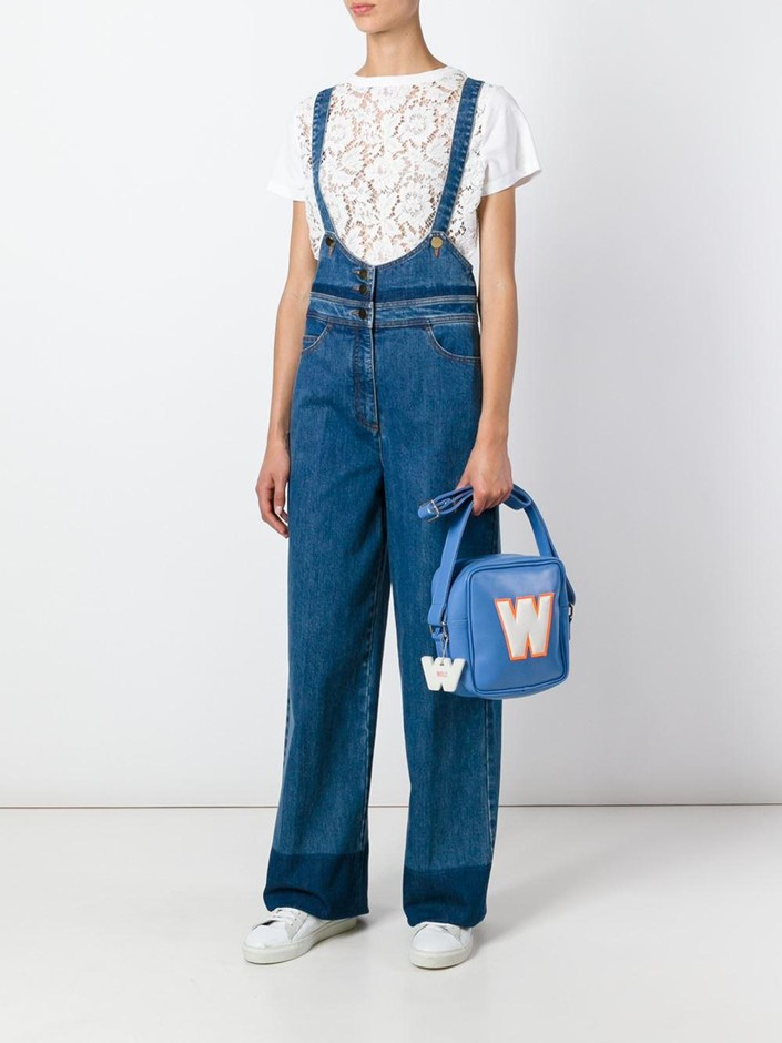Walter Van Beirendonck Vintage W アップリケ 斜めがけバッグ - House Of Liza - Farfetch.com