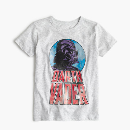 Kids' Star Wars™ for crewcuts glow-in-the-dark Darth Vader T-shirt : glow-in-the-dark t-shirts | J.Crew