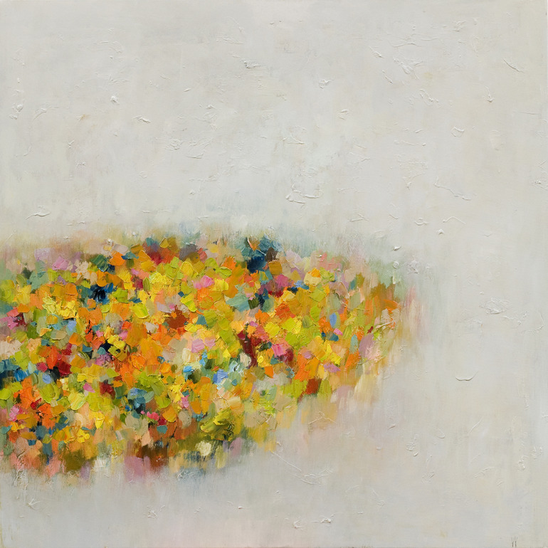 "Saatchi Online Artist: Yangyang pan; Oil, Painting ""Abstract Landscape 8 (sold)"""