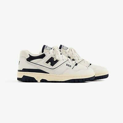 Aime Leon Dore New Balance P550 Basketball Oxfords Navy DS Size 8.5 ALD NB White | eBay
