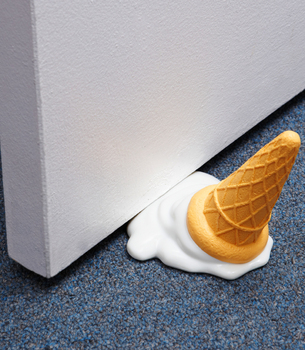Fredflare.com - Scoops Ice Cream Door Stop - Fred & Friends Door Stop