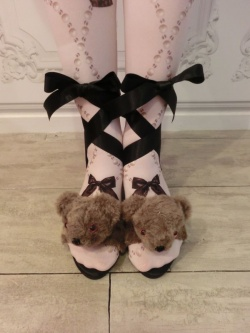 Flapper Shoes(Bear) - syrup.