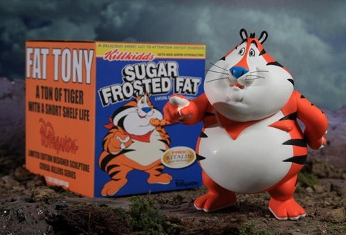 Ron English 'Fat Tony' Vinyl Figure | Rager Life - News & Reviews On The Freshest Art, Music, Clothes & Gear
