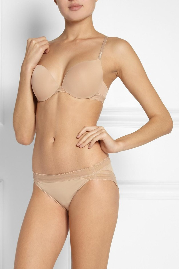 Calvin Klein Underwear | Icon stretch-satin briefs | NET-A-PORTER.COM