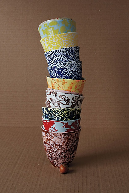 cups from anthropologie | For the Home