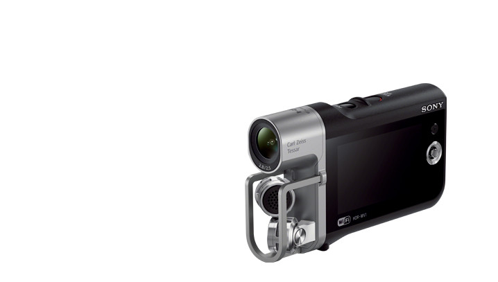 Sony's HDR-MV1 Music Video Recorder helps your band break out of the garage, into YouTube