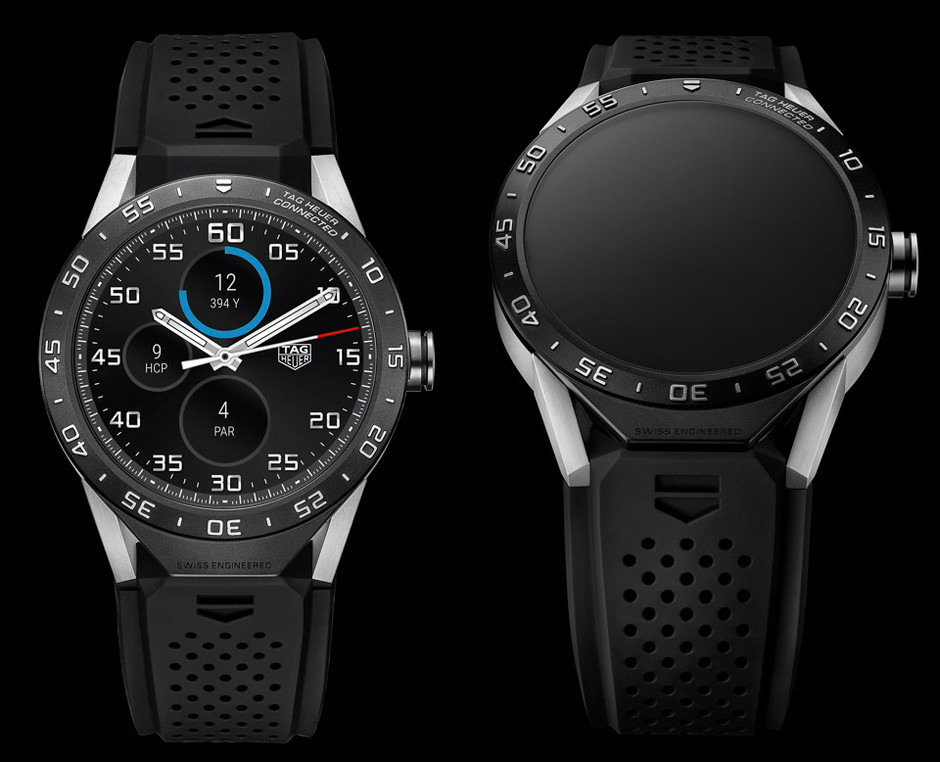 TAG Heuer teases its upcoming 'Connected' Android Wear smartwatch in new image | 9to5Google