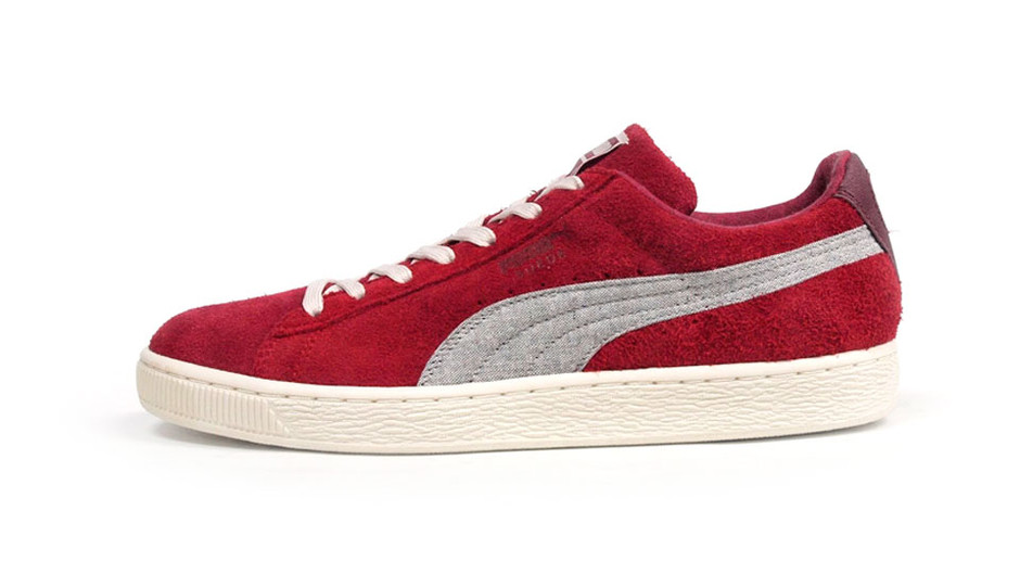 SUEDE RUGGED 「LIMITED EDITION」 RED/GRY プーマ Puma | ミタスニーカーズ|ナイキ・ニューバランス スニーカー 通販