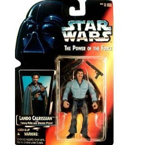 Amazon.co.jp: Star Wars: Power of the Force Red Card > Lando Calrissian Action Figure: おもちゃ