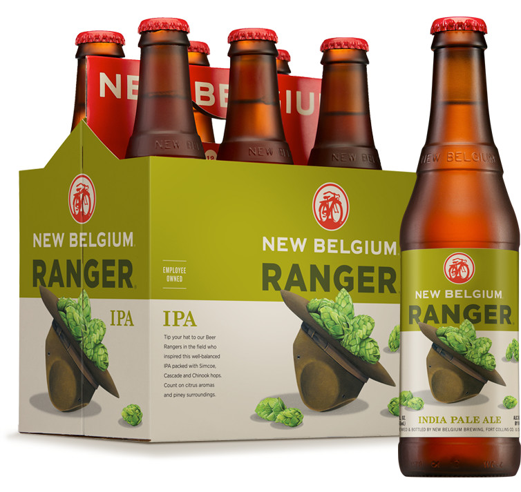 Ranger IPA beer - New Belgium Brewing