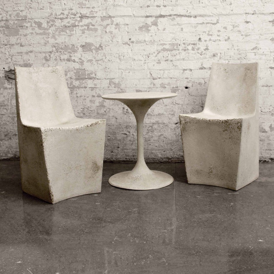 Zachary A. Design | Outdoor Furniture Designs - Furniture - Stone DiningChair