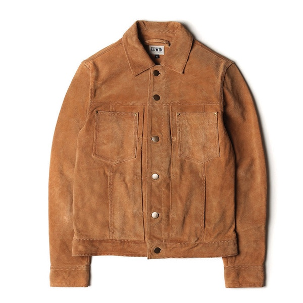 EDWIN SUEDE JACKET | NEXT DOOR PROMOTIONAL CODE | fashionstealer