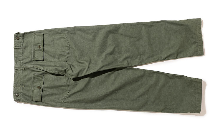orSlow/US Army Fatigue Pants-Green