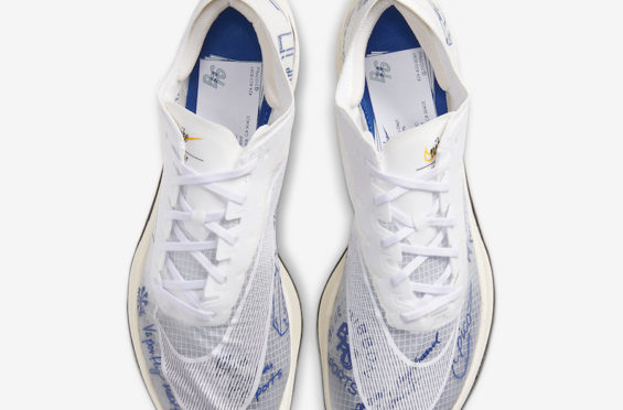Official Look At The Nike ZoomX Vaporfly NEXT% Blue Ribbon Sports • KicksOnFire.com