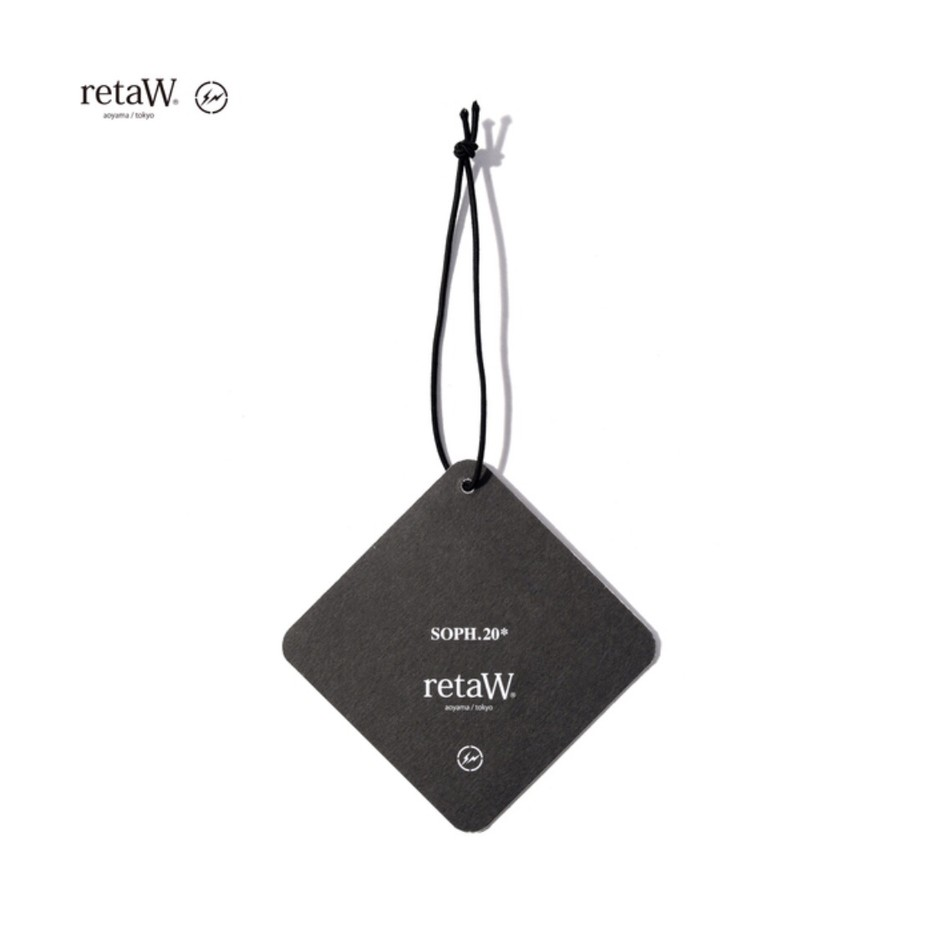 SOPH. | SOPH.20 × retaW (fragment design) CAR TAG(FREE BLACK):