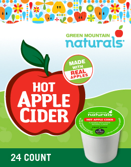 Green Mountain Naturals Hot Apple Cider K-Cup - Green Mountain Coffee