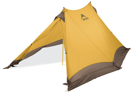 MSR® Twin Sisters™ Expedition Two-Person, 4-seaon Tarp Shelter.