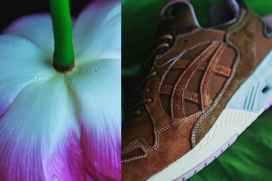 "蓮の名所・不忍池からヒントを得た ASICS Tiger x mita sneakers GT-COOL XPRESS ""Lotus Pond"" 