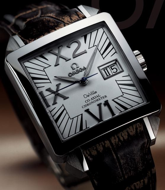 Omega De Ville X2 Big Date Watch Available On James List