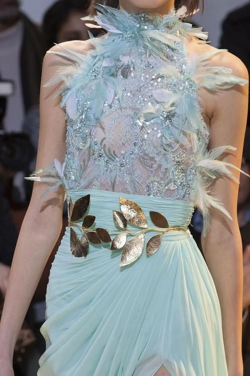 Zuhair Murad Spring 2014 Haute Couture | *~: Fashion Details:~* | Pin…