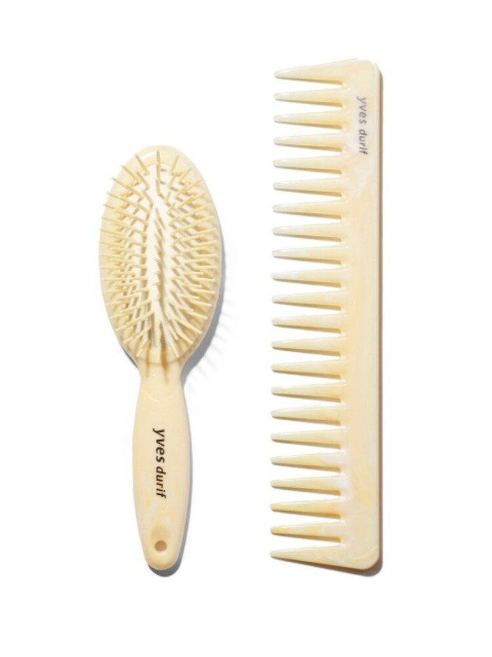 Yves Durif Comb and Petite Brush — Yves Durif Salon