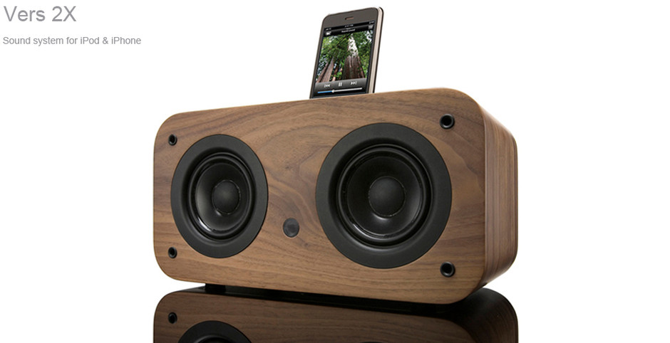 Vers 2X - Hand-crafted Sound Systems for iPod