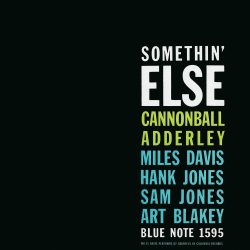 Amazon.co.jp: Somethin' Else: Cannonball Adderley, Sam Jones, Hank Jones, Art Blakey, Miles Davis: 音楽