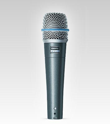 Shure Americas | BETA 57A Instrument Microphone | Precision, Sensitivity, Vocal, Instrument