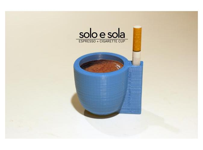 SOLO E SOLA by tomorrowlab on Shapeways